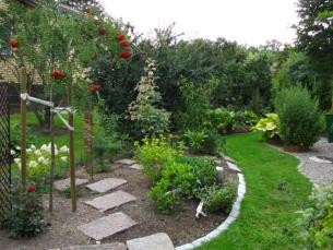 Trädgård Grus : Nord� ns trädgård